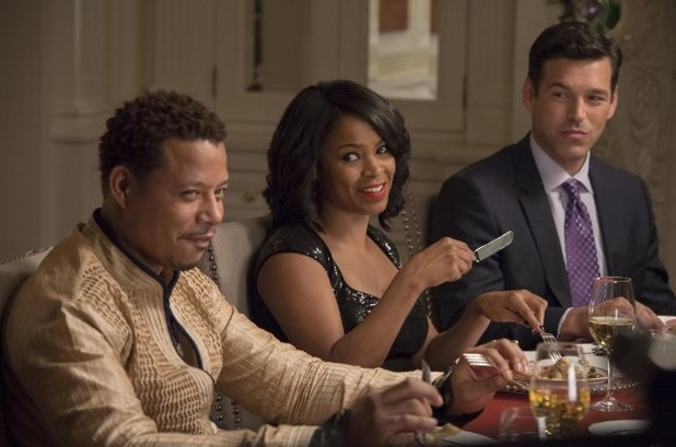 Nia Long, Terrence Howard and Eddie Cibrian in 'The Best Man Holiday'