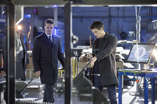 Grant Gustin as DC Comics hero Barry Allen/The Flash in 'Arrow': 'The Scientist'