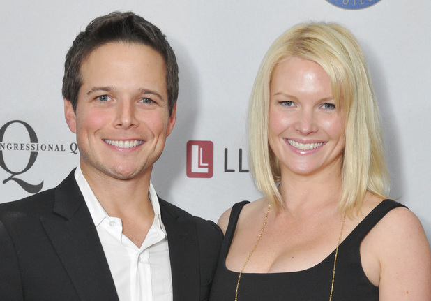 Scott Wolf and wife Kelley Limp and the Artists and Athletes Alliance reception, Los Angeles