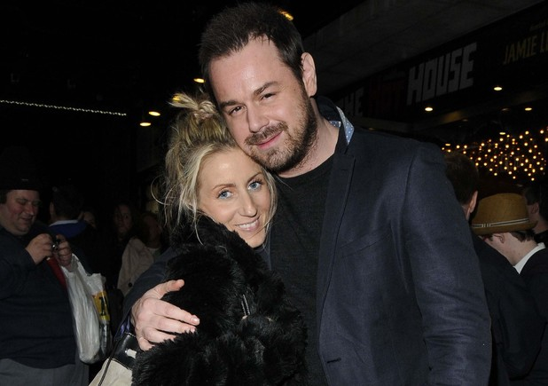 Joanne Mass and Danny Dyer