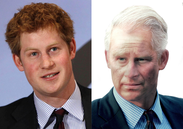 Prince Harry aged 65