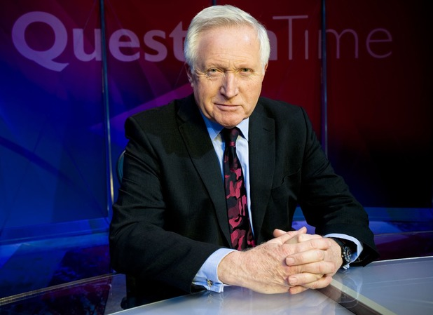'Question Time' host David Dimbleby