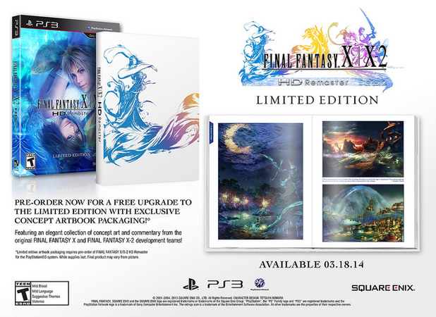 Final Fantasy X, X-2 HD Limited Edition packaging