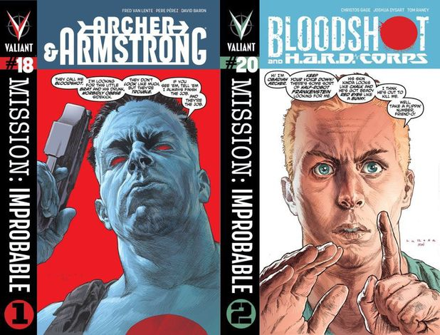 'Mission: Improbable' - The 'Archer & Armstrong', 'Blooshot' crossover