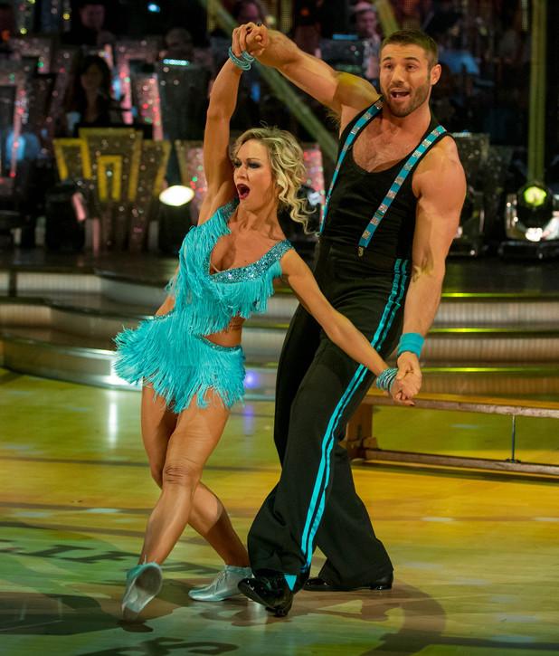 Ben and Kristina dance the Charleston