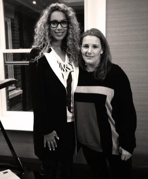 Leona Lewis and Sam Bailey