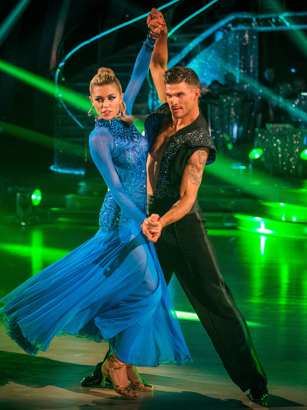 Abbey and Aljaz dance a passionate Paso Doble.