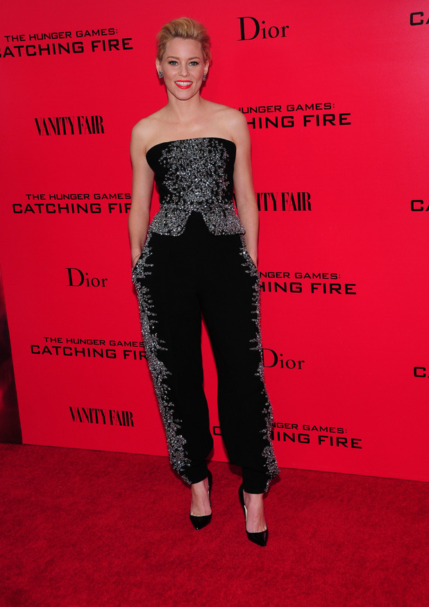 Lionsgate Present the NY Special Screening of The Hunger Games Catching Fire Elizabeth Banks