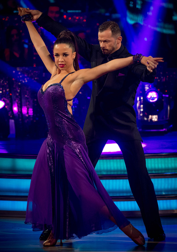 Natalie and Artem dance the Tango
