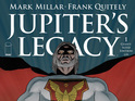 Oversized comic features the first three issues of Millar and Quitely's series.