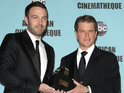 The Academy Award winners are producing drama series about corporate espionage.