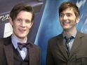 Two Doctors unite for a Digital Spy 50th anniversary video interview.