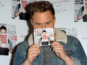 Olly Murs meets fans at HMV Oxford Street to promote the release of his single 'Hand On Heart'