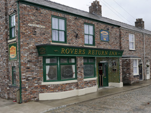 Coronation Street set launch