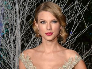 Taylor Swift dazzles at Prince William's charity gala at Kensington Palace.