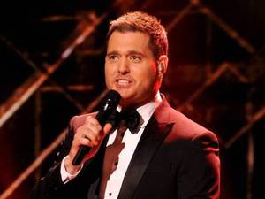 Michael Buble performs during The X Factor USA Big Band week