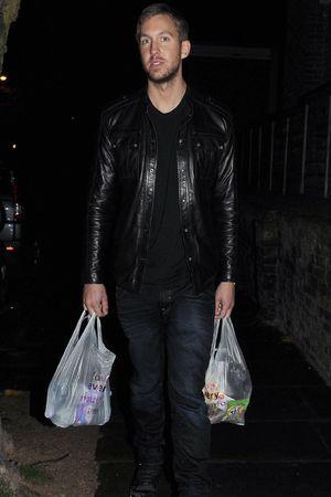 Calvin Harris at Rita Ora Birthday Party at the Box Club, London, Britain - 26 Nov 2013