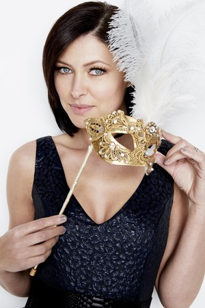 Emma Willis in a new promo shot for Celebrity Big Brother
