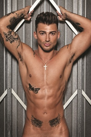 Jake Quickenden poses nude for 'Gay Spy'
