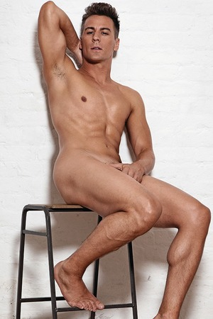 Matt Evers gets naked for 'Gay Times'