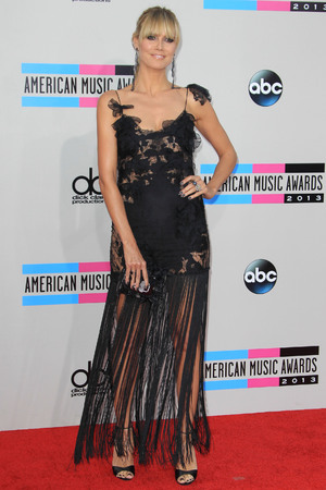 American Music Awards, Arrivals, Los Angeles, America - 24 Nov 2013 Heidi Klum