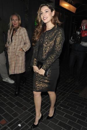 Kelly Brook  at Rita Ora Birthday Party at the Box Club, London, Britain - 26 Nov 2013