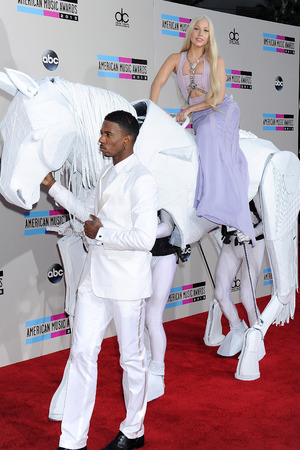 American Music Awards, Arrivals, Los Angeles, America - 24 Nov 2013 Lady Gaga 24 Nov 2013