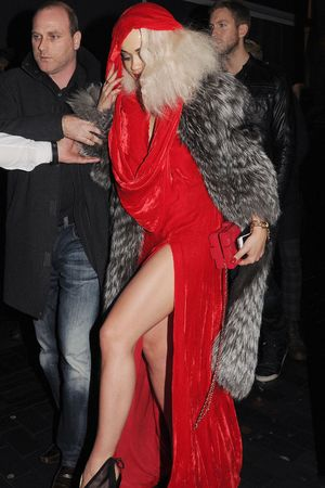 Rita Ora Birthday Party at the Box Club, London, Britain - 26 Nov 2013 Rita Ora 26 Nov 2013