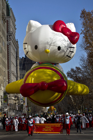 The 87th annual Macy's Thanksgiving Day parade on November 28, 2013 in New York City
