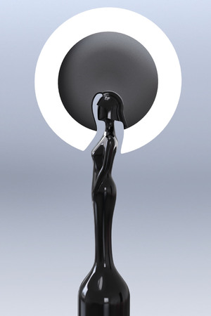 Brit Awards statue 2014 designed by Philip Treacy.