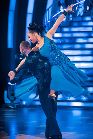 Natalie and Artem dance the American Smooth