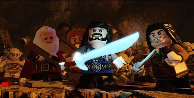 LEGO: The Hobbit Video Game will launch in 2014