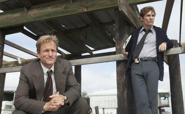 Woody Harrelson and Matthew McConaughey in 'True Detective'