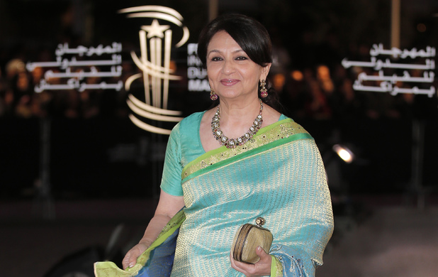 Sharmila Tagore arrives at the Marrakech International Film Festival in Marrakech
