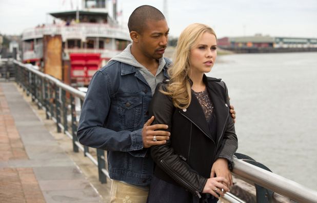 Charles Michael Davis as Marcel and Claire Holt as Rebekah in The Originals episode 7: 'The River in Reverse'