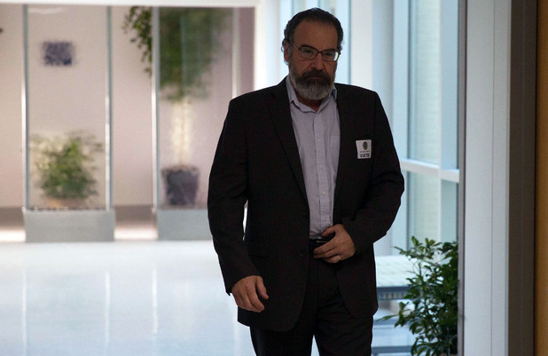 Mandy Patinkin as Saul Berenson in Homeland series 3 episode 9: 'One Last Time'