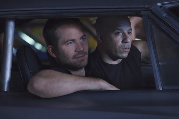 Paul Walker, Vin Diesel in Fast Five.