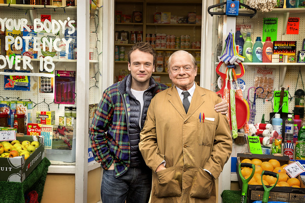 David Jason in 'Still Open All Hours'.