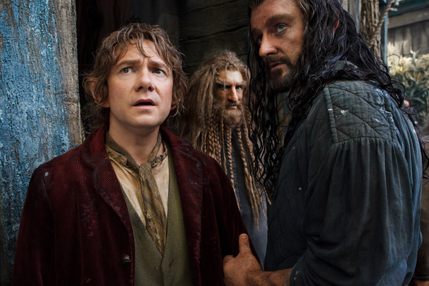 Martin Freeman, Richard Armitage and more in fresh images from The Hobbit sequel.