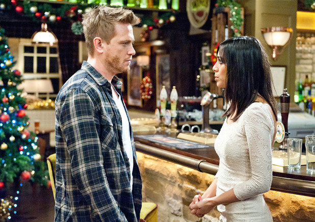 Priya tells David to call off the wedding.