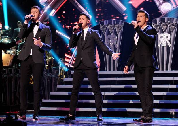 Restless Road perform during The X Factor USA Big Band week