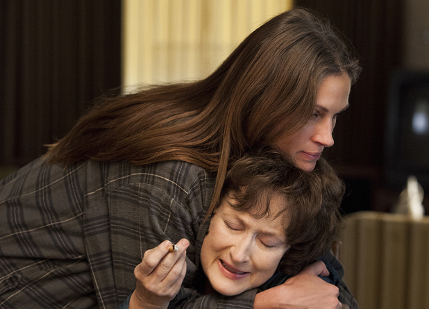 Meryl Streep, Julia Roberts in August: Osage County