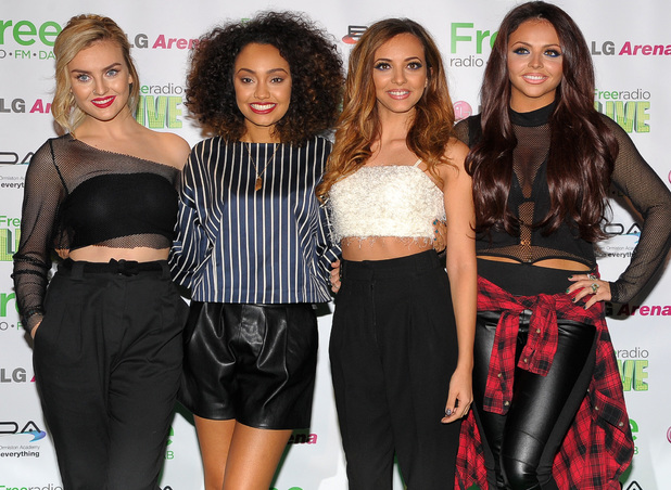 Little Mix attend the Free Radio Live 2013 held at Birmingham LG Arena