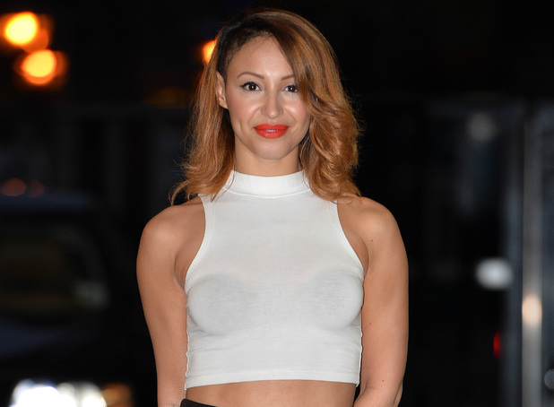 Amelle Berrabah outside the ITV studios