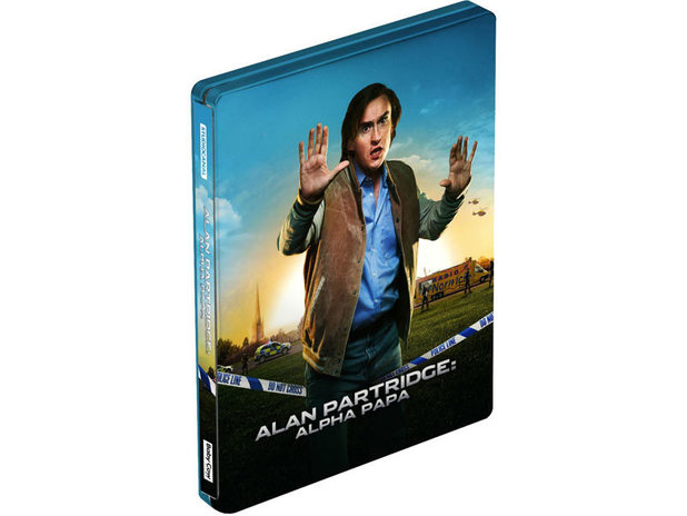 Alan Partridge: Alpha Papa Steelbook