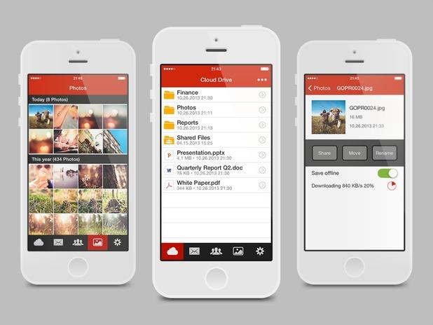 Mega iOS app