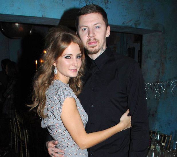 Professor Green's 30th birthday dinner party at Paradise