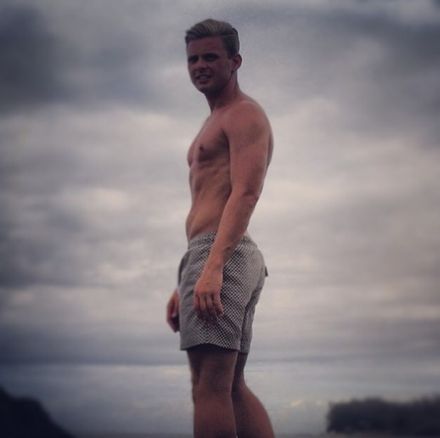 Jeff Brazier instagram picture