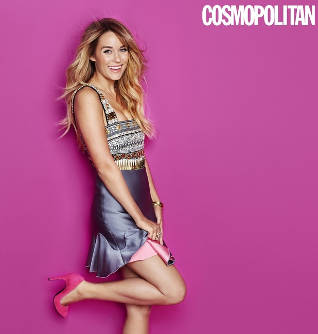 Lauren Conrad in the January issue of Cosmopolitan