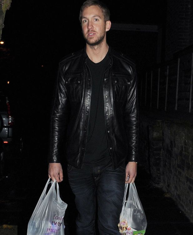 Calvin Harris at Rita Ora Birthday Party at the Box Club, London, Britain - 26 Nov 2013
